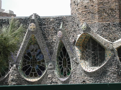Gaudi windows